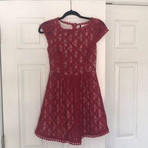 Kensie garnet dress